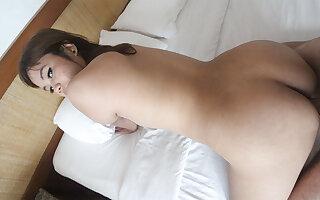 Asian Slut Warm White Cock - AsianSexDiary