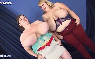 Lexxxi Luxe , Maggie Dubonet  - Big Tits Party