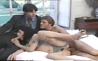 Gorgeous pornstars appears in crazy retro porn membrane