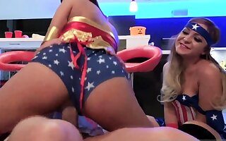 Mistress guy teen and anal Halloween Scare