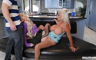 REALITY KINGS: Horny Landlady Sally D'Angelo Gets Her Trilogy on PornHD