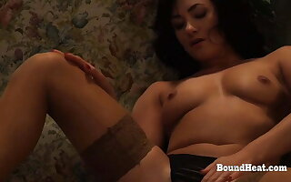 Pussy Licking Coupled with Furious Massage For Lesbian Slave
