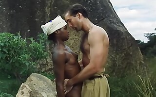 Black Girl And White Soldier