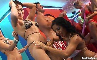 Shameless drunk girls hot erotic show