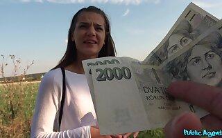 Hot Nana Garnet does dishonest deeds in foreign lands for a decent amount of cash