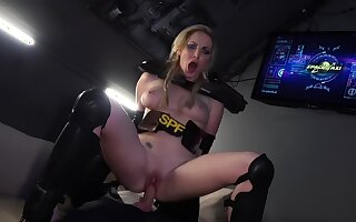 Bitches fucked by tantamount blank out in obscene role play tryout