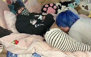 Femboy Kitten Gets Eaten overseas and Overstimulated