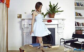 Comprehensive sucks gumshoe in fantasy modes before sticking it in her exasperation
